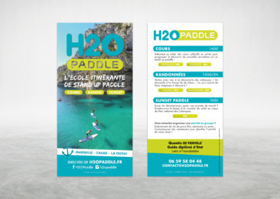 Flyer 2018 H2O Paddle