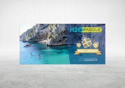 Bon Cadeau H2O Paddle