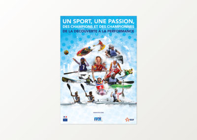 Poster des Champions FFCK (2018)
