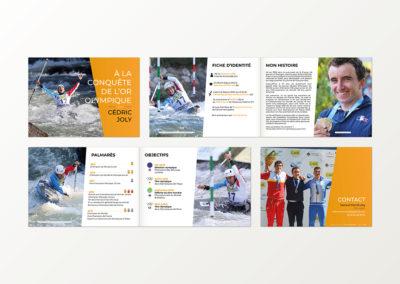 Livre Sponsor Cédric Joly